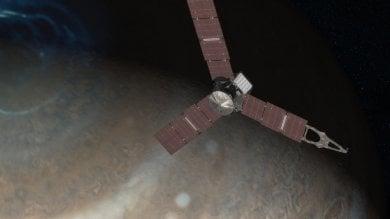 Giunone e Giove, contatto nello spazio  per svelare i segreti del pianeta   Video