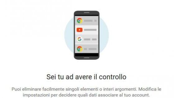 """My Activity, il servizio per scoprire ciò che Google sa di noi: """"Più potere all'utente"""""""