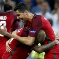 Portogallo, quinta semifinale nelle ultime sette: ma Ronaldo sa solo pareggiare