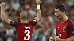 Portogallo in semifinale la Polonia ko ai rigori