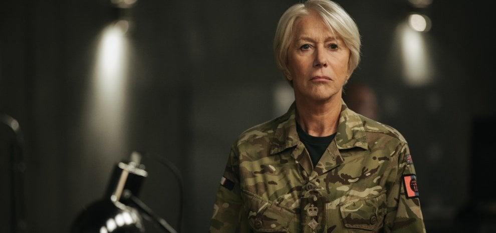 """Helen Mirren va alla guerra con 'Il diritto di uccidere': """"Quello che era fiction sta diventando realtà"""""""