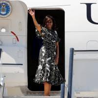 Fashion e impegno per le donne di casa Obama: Michelle guida il tour tra Africa ed Europa