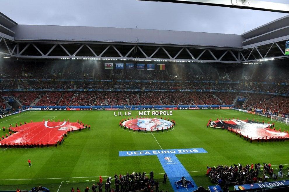 Galles-Belgio, il film della partita