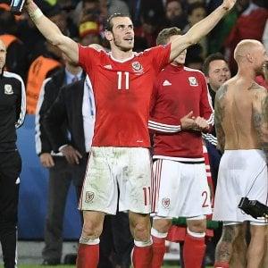 """Galles, Bale euforico: """"La cosa più bella della mia vita"""""""