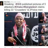 Strage di Dacca, commando di cinque terroristi: le foto pubblicate da Site