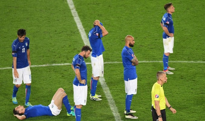 Italia a testa alta, Germania avanti ai rigori   foto