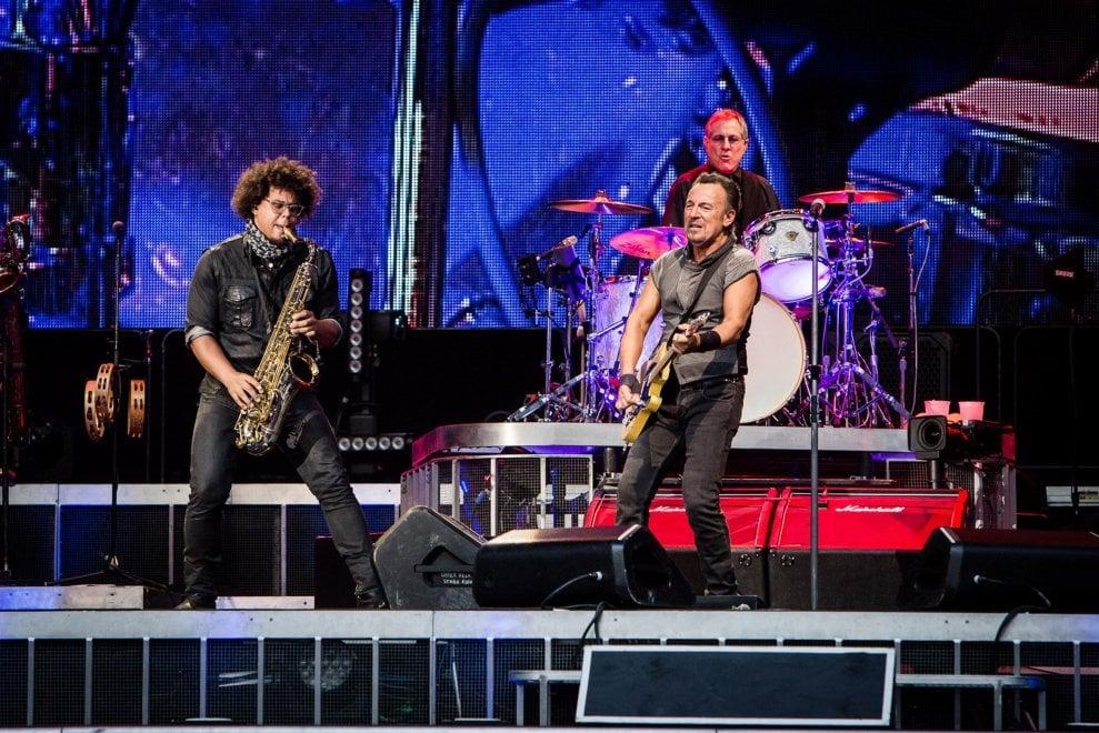 Bruce Springsteen, a San Siro una scarica di energia rock