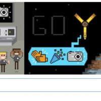 Juno nell'orbita di Giove, il doodle dedicato alla sonda