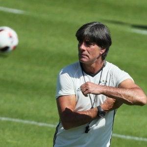 """Germania, Loew: """"Francia forte ma non perfetta. Sfruttare i puntI deboli"""""""