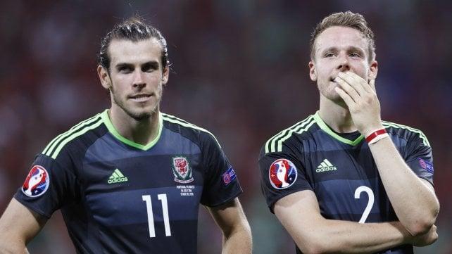 """Galles, semifinale inaspettata: Gunter fa il testimone di nozze via """"Skype"""""""