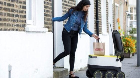 Grazie ai robot la rivoluzione del takeaway