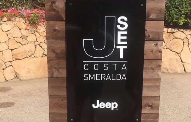 Jeep sbarca sulle coste della Sardegna