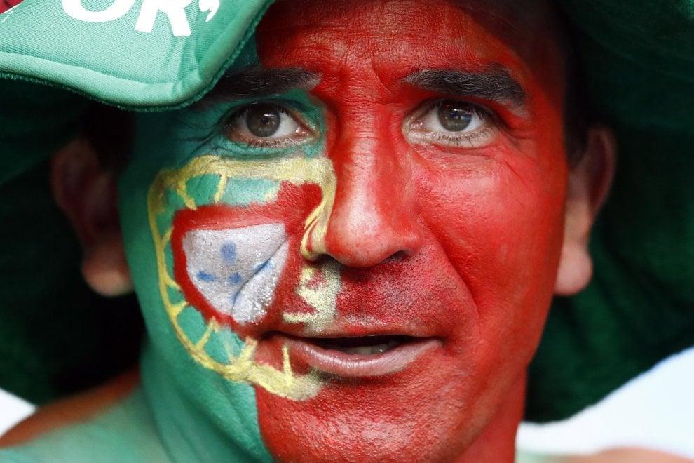 Portogallo-Francia, rosso contro blu: sugli spalti i colori della finale