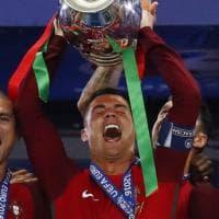 Europei, la festa del Portogallo: è campione d'Europa