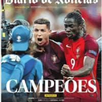 Portogallo-Francia, le prime pagine dei quotidiani dal mondo: