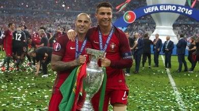 """Portogallo, Ronaldo: """"Il giorno più bello della mia vita"""".  Starà fermo un mese"""