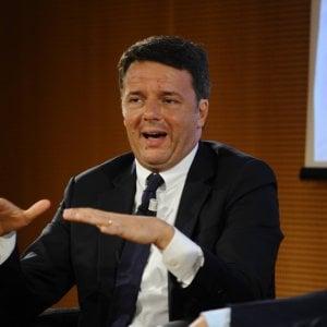 """Renzi: """"Ciao a Equitalia"""". Esalta la banda larga: """"Altro che Telecom"""". Ira di D'Alema"""