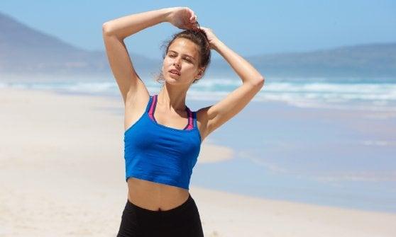 Un'estate senza mal di testa? Il segreto è fare lo sport