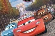 Cars, le auto del film sugli Champs-Elysees