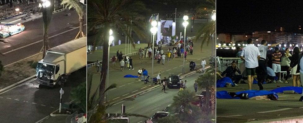 Strage a Nizza, camion e spari sulla folla. Il tir a zigzag per falciare più passanti. Almeno 84 morti