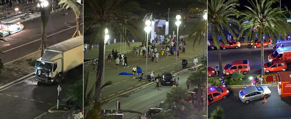 Attentato a Nizza, camion e spari sulla folla: morti e feriti. La cronaca dell'attacco