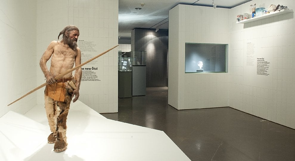 Bolzano, 25 anni con Ötzi -   ft