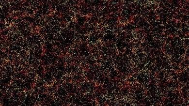 La mappa dell'universo  ci dice come agisce l'energia oscura