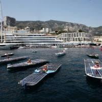 """Solar Impulse anche per le barche. A Monaco il raduno dei motoscafi """"puliti"""""""