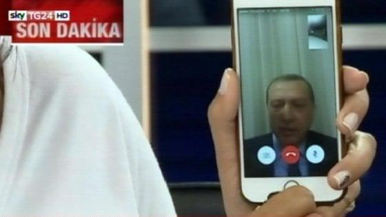 turchia erdogan smartphone