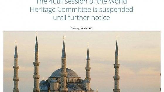 Golpe in Turchia, sospesi i lavori Unesco: slittano le iscrizioni al Patrimonio dell'Umanità
