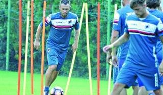 Sampdoria, in ritiro c'è anche Cassano