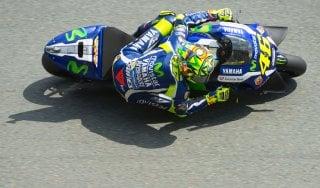 """MotoGp, Gp Germania; Rossi: """"Fermarmi prima? Al massimo sarei finito sesto''"""