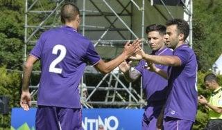 Fiorentina, tris alla Feralpi Salò. Rossi lascia ancora il segno