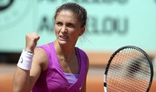 Tennis, esordio vincente per la Errani a Bastad