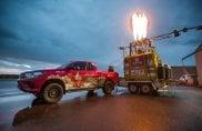 Toyota Hilux e il giro del mondo in mongolfiera