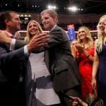Convention Gop, tutta la famiglia Trump sul palco: ''Papà ti vogliamo bene''