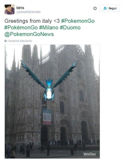 PokémonGo in Italia, la caccia tra monumenti e in spiaggia
