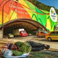 """Rio 2016,  povertà e Olimpiadi: """"Altro che 'un mondo nuovo'"""" - La foto simbolo"""