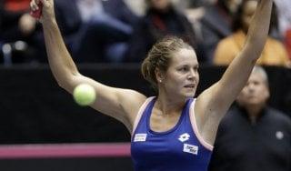 Tennis, Errani e Knapp ai quarti in Svezia. Lorenzi ok in Austria, Fognini avanti in Croazia
