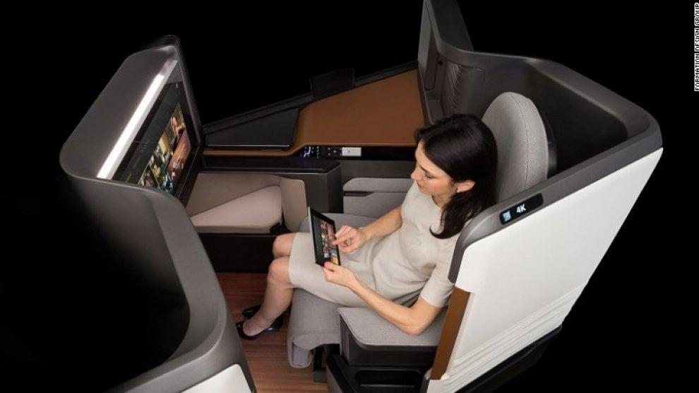 Realtà virtuale, film a 4k, internet. Ecco come saranno i voli aerei del futuro