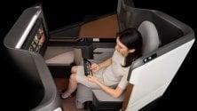 Relax ed entertainment: ecco le cabine del futuro   Foto:  schermi 4K e Led