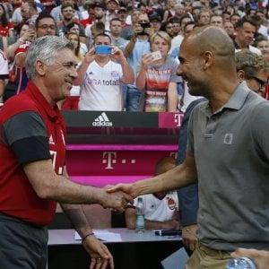 Bayern-Manchester City 1-0: prove di Champions, Ancelotti beffa Guardiola