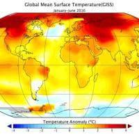 Global warming, 2016: un giugno da record