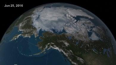 2016, il semestre più caldo di sempre   foto   Giugno da record, l'Artico si scioglie   video