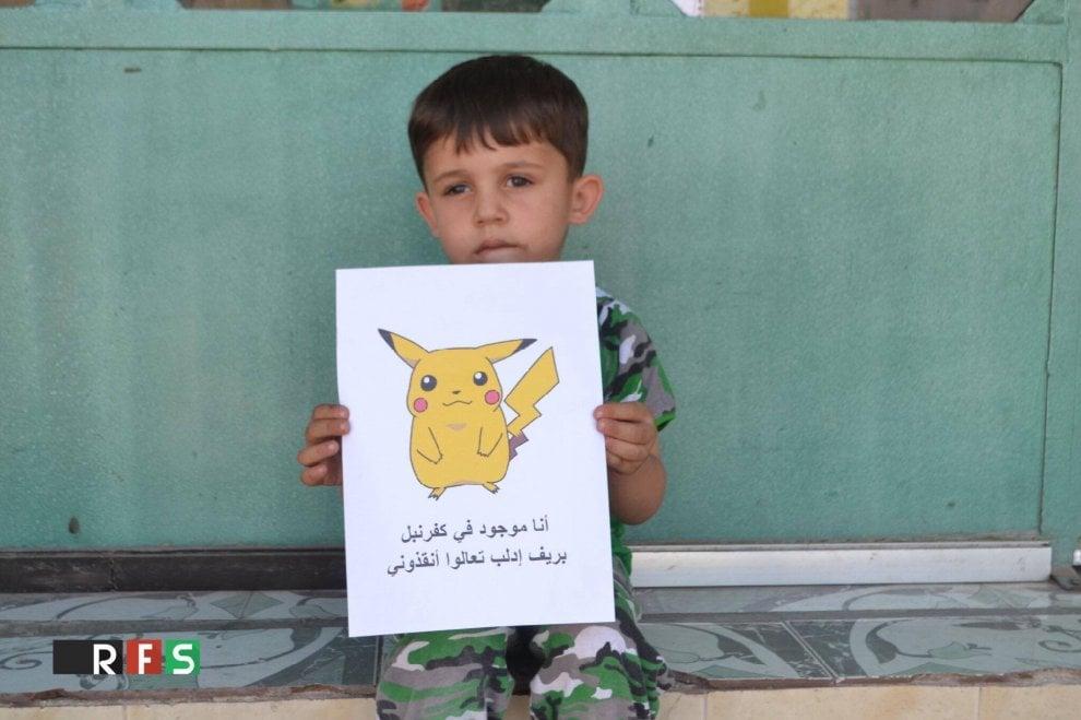 Pokémon Go, l'appello dei bimbi siriani: ''Trovateci e salvateci''