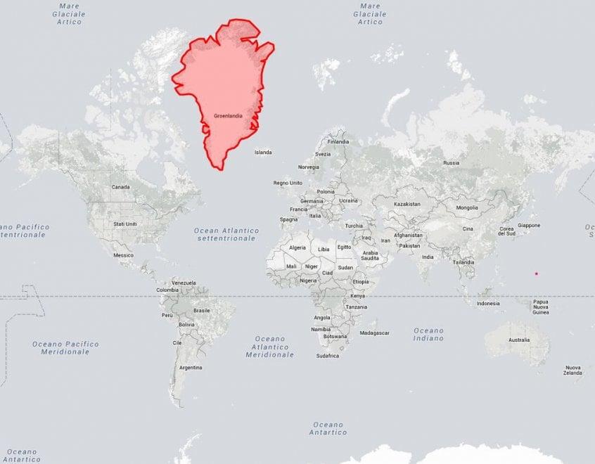Cartina Mondo Paesi.La Vera Misura Del Mondo Stati A Confronto Nella Mappa La Repubblica