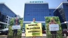 ''L'Amazzonia non si tocca'', Greenpeace contro Siemens sulla diga