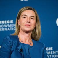 """Mogherini a Washington: """"Ue e Usa hanno bisogno uno dell'altro. Nato cruciale"""""""