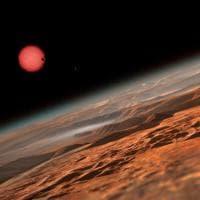 I due pianeti extrasolari Trappist-1b e Trappist-1c
