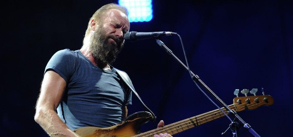Sting a Roma, Firenze e Milano. Sold out per gli Iron Maiden